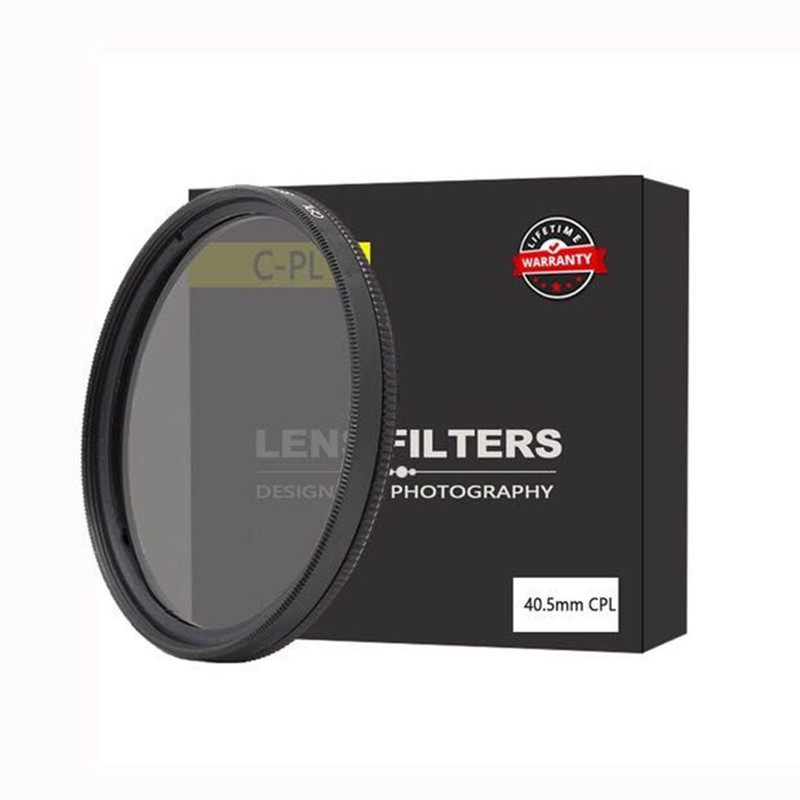 Высококачественный 40,5/49/52/55/58/62/67/72/77 мм водонепроницаемый круговой поляризатор CPL фильтр для объектива камеры canon для sony