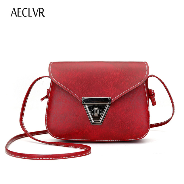 04cf05ed7241 AECLVR NEW Crossbody bags for women Small Side Of Mini Mobile Phone  Messenger Bag Triangle buckle Women Bags Shoulder Bags