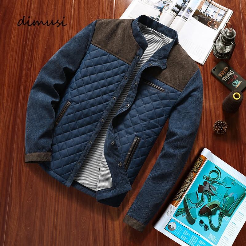 DIMUSI Autumn Winter Mens Bomber Jacket Casual Men Outwear Windbreaker Jacket Male Fashion Baseball Slim Fit Jackets Clothing