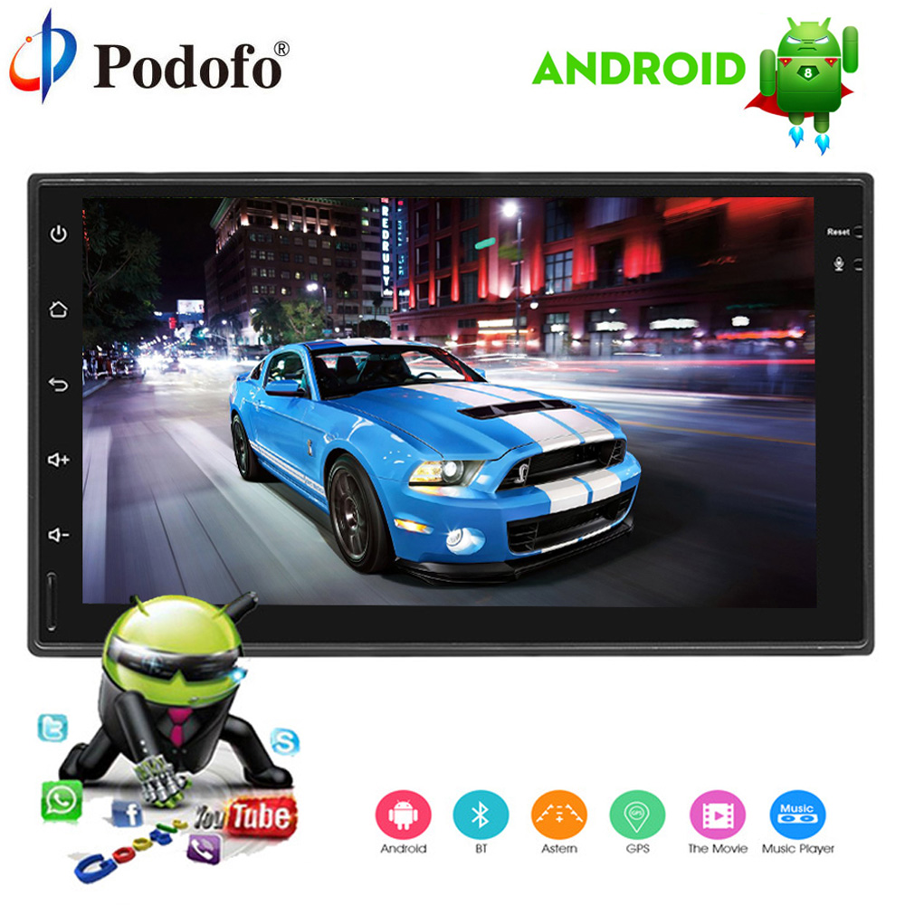 Podofo 2 Din Android car radio 7