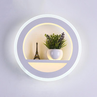 Eusolis Acryl Wall Lamps Indoor Modern Stair Light Living Room Decoration Loft Wall Lights For Home Applique Murale Luminaire