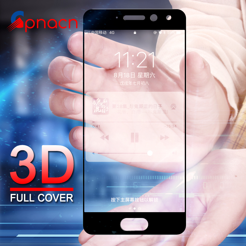 GPNACN 3D Full Cover Tempered <font><b>Glass</b></font> For <font><b>Meizu</b></font> M5 M6 Note Pro 6 6S 7 Plus M5S MX6 M3 Note <font><b>M3S</b></font> <font><b>mini</b></font> Screen Protector Film <font><b>Glass</b></font> image