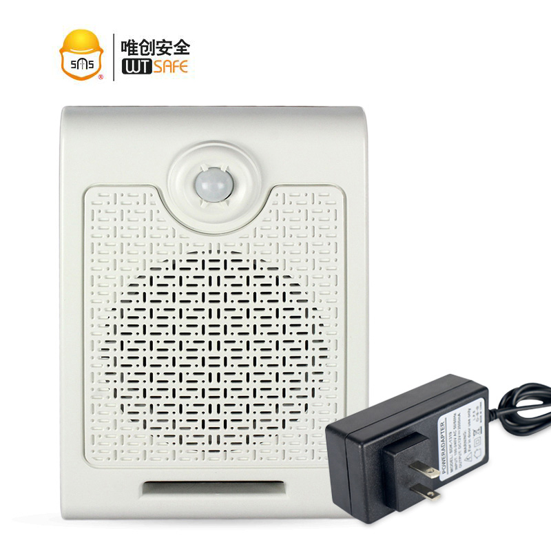 Advertising promotion audio speaker broadcaster device motion sensor activation sound site supermarket voice prompter shop store supermarket advertising motion sensor mp3 sound player with 128m sd memory card for sales promotion voice broadcast