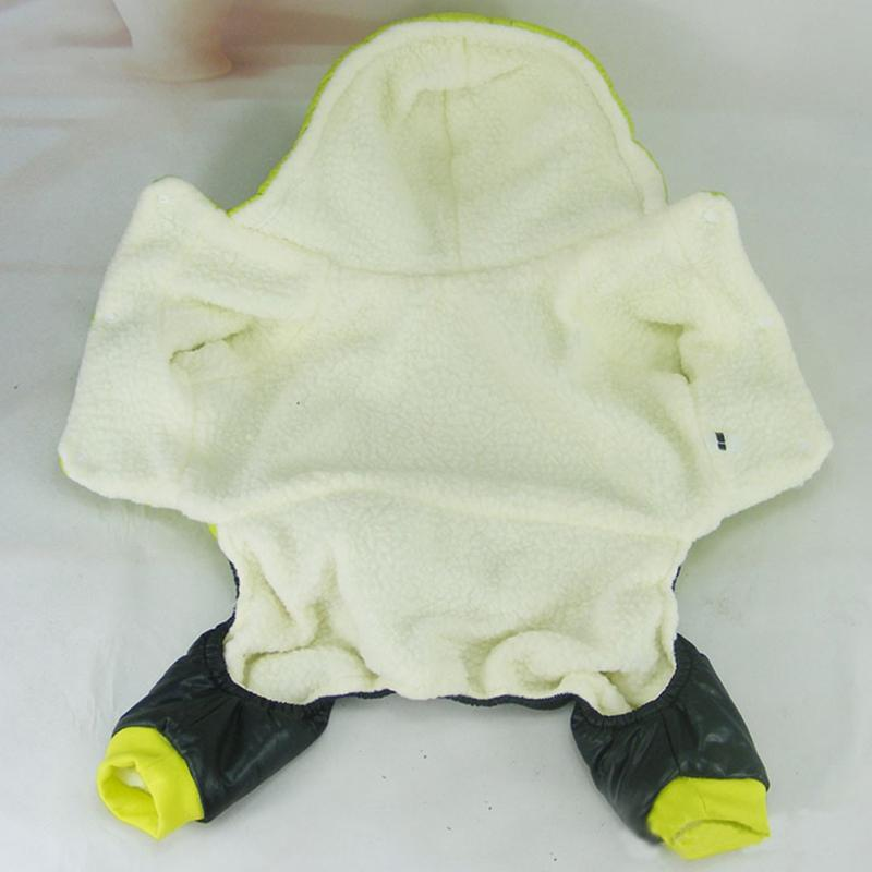 Autumn Winter Dog Jack Hooded Four-legged Warm Casual Pet Clothing Pet Clothes #4