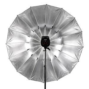 Image 5 - Godox студийный фотографический Зонт 60 дюймов 150 см черный серебристый отражающий зонт + большой диффузор для студийной съемки