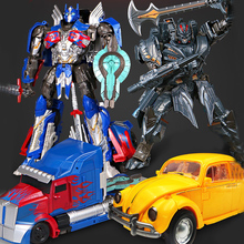 Anime style Super Transformation Toys Robot Car hero action figure Kid Deformation Model Toy Gifts