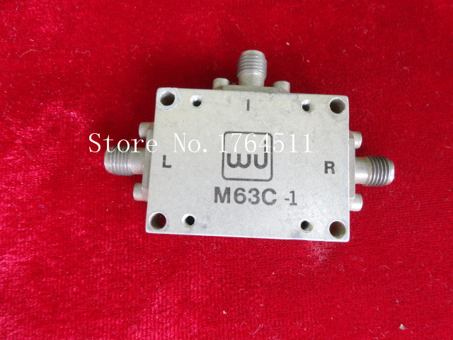 [BELLA] M/A-COM/WJ M63C-1 RF:2.5-5.5GHz SMA RF Coaxial High Frequency Mixer