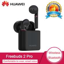 Huawei беспроводная гарнитура FreeBuds 2 Pro с Bluetooth 5,0 Bone Voiceprint ID IP54 водонепроницаемые наушники для huawei P20 Pro Mate20