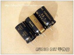 10 قطعة/30 قطعة ELNA TONEREX II نيابة 330 فائق التوهج/50 V الصوت مكثفات كهربائية (تايلاند origl مربع التعبئة والتغليف) شحن مجاني