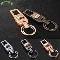 Upscale Car Keychain Metal Men Bussiness Key Chain Auto Accessories For Yamaha Tesla SAAB Smart SSANG