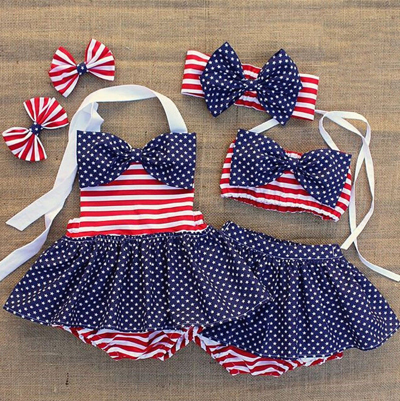 ITFABS Children's swimsuit girls mermaid swimwear for kids bebek bikini dress 3pcs/set swimsuit children girls two pieces bikini