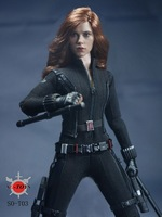 1 6 Super Flexible Figure Marvel S The Avengers Black Widow Scarlett Johansson 12 Action Figure