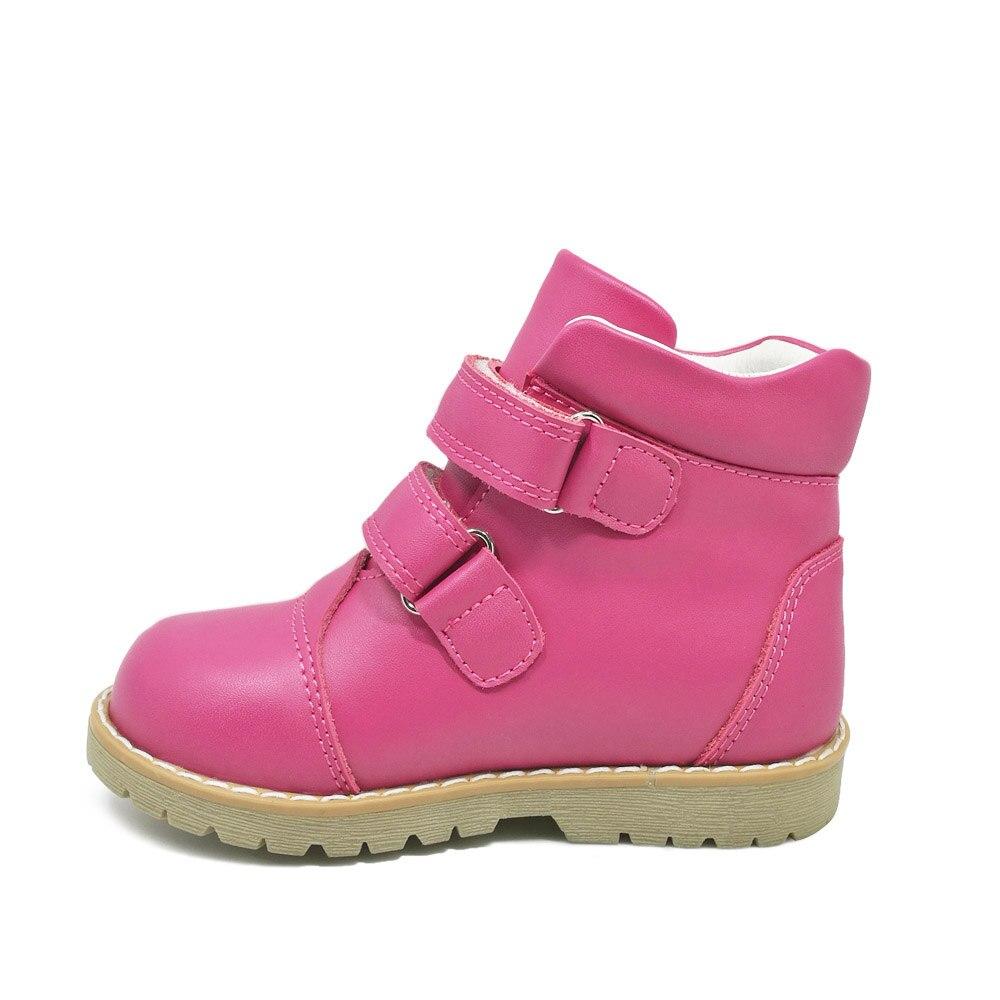 Mode printemps automne enfants décontracté chaussures orthopédiques enfants papillon impression chaussures en cuir filles bambin chaussures de sport - 3