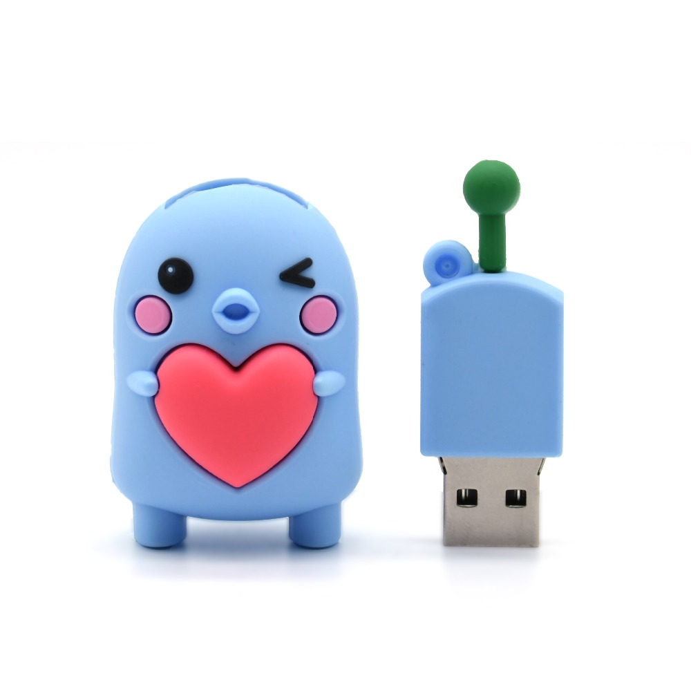 Fast Deliver King Saras Cartoon Cute Blue Hat Chil Model Usb2.0 4gb 8gb 16gb 32gb 64gb Pen Drive Usb Flash Drive Creative Usb Stick Pendrive In Short Supply External Storage