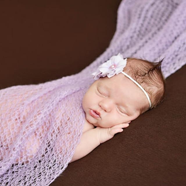 64de1ea171656 US $4.28 10% OFF|Baby Newborn Photography Props Baby Costume Outfit Cotton  Photos Wrap Girls Baby Photo Props Wrap bebe Fotografia Kids Hammock-in ...