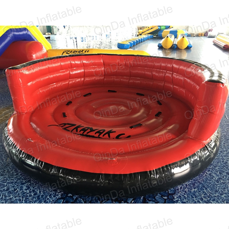 Summer hot selling inflatable water sport Flying Inflatable Crazy UFO For Sale Water Ski Tube water ski tube flying sofa inflatable water ski tube crazy ufo inflatable crazy water game crazy ufo