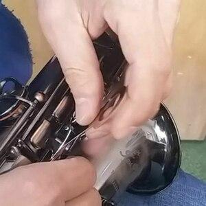 Image 2 - 8 Pcs Bläser Saxophon Reparatur Werkzeug Ersetzen Pads Eisen