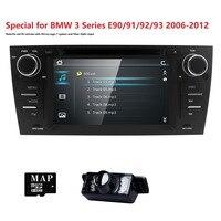 Автомобиль Авторадио DVD плеер 1 Дин GPS Navi для BMW E90 E91 E92 E93 с 3G Bluetooth Canbus с руль RDS rearcam карта