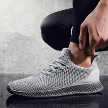 154da36cfe 2018 new size 39-44 gray black red men sneakers more breathable mesh summer  comfortable