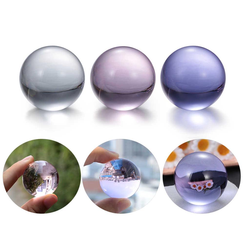 1Pc טבעי ורוד סגול אמטיסט קוורץ אבן כדור Creative קריסטל פלואוריט כדור ריפוי קריסטל קישוט Accessiories