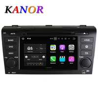 Android 4 2 Car DVD GPS For OLD MAZDA 3 2004 2009 Capacitive Touch Screen