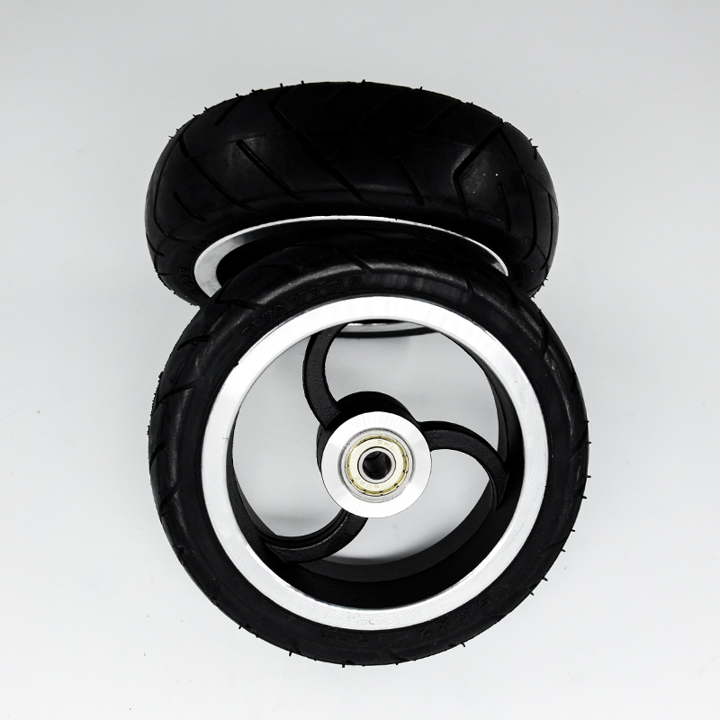 cheap 5.5 inch scooter wheel PU Wheel Scooter Tire for Wheelchair Rear Wheel factory high quality original Scooter wheels