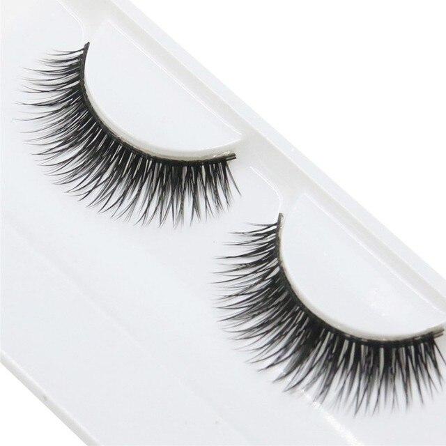 טבעי יופי צפוף זוג ריסים מלאכותיים מגנטי ריסים טבעי שיער מינק ריסים maquiagem #05