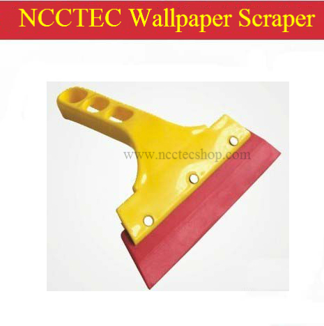 Wallpaper Rubber scraper Smoother  wallpaper putty knife and paste tools  plastic handle