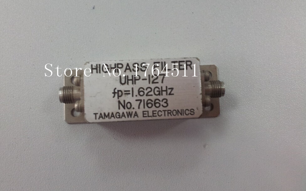 [BELLA] TAMAGAWA UHP-127 1.62GHZ RF Microwave High Pass Filter SMA