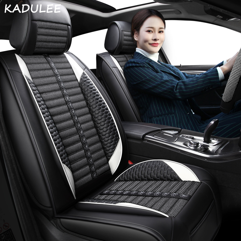 KADULEE car seat cover for volkswagen vw <font><b>jetta</b></font> mk5 6 mk6 touareg of 2010 2009 <font><b>2008</b></font> 2007 Automobiles Seat Covers image