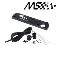 PCV Adapter Fits FOR Audi / VW 2.0T FSI Torque Solution Billet PCV Adapter w/ Boost Cap Kit