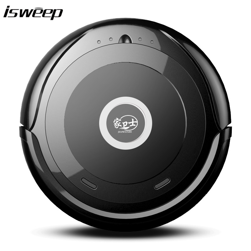 Isweep A2 Ultra Thin Intelligent Vacuum Cleaner Sweep Floor Robot Vacuum Cleaner with Strong Suction Super Quiet Design xshuai hxs g1 vacuum cleaner robot wireless 2000pa super suction auto recharge gyro navigation sweep drag for wood floor carpet