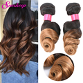 7A Virgin Malaysian Hair Loose Wave 1B 27 Ombre Virgin Hair Extension Rosa Hair Products 4 Bundles Ombre Loose Wave Hair Weave