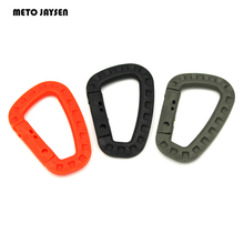 Outdoor Sports Accessory Climbing Quick Nylon Buckle for Backpack Key Ring Kettle Quick Connection for Tents Ropes 6PCS=1LOT