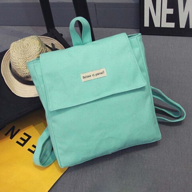 Girl Canvas School Shoulder Bag Comfy Style Travel Cute Backpack Satchel Women Rucksack mochila feminina*10