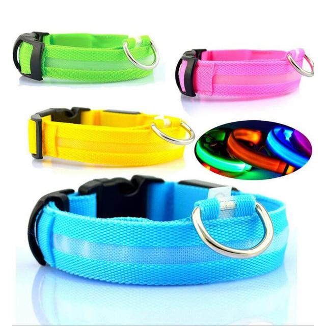 Nylon LED Pet Dog Collar