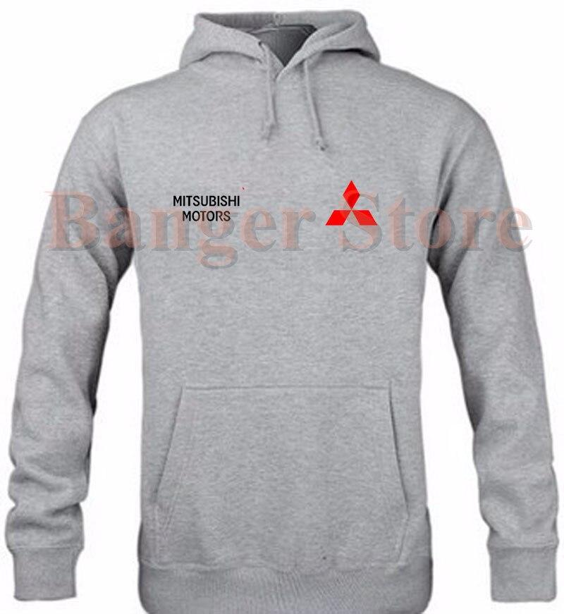 Mitsubishi Car Logo Pullover Hoodie Sweatshirt Cotton Overalls 4s