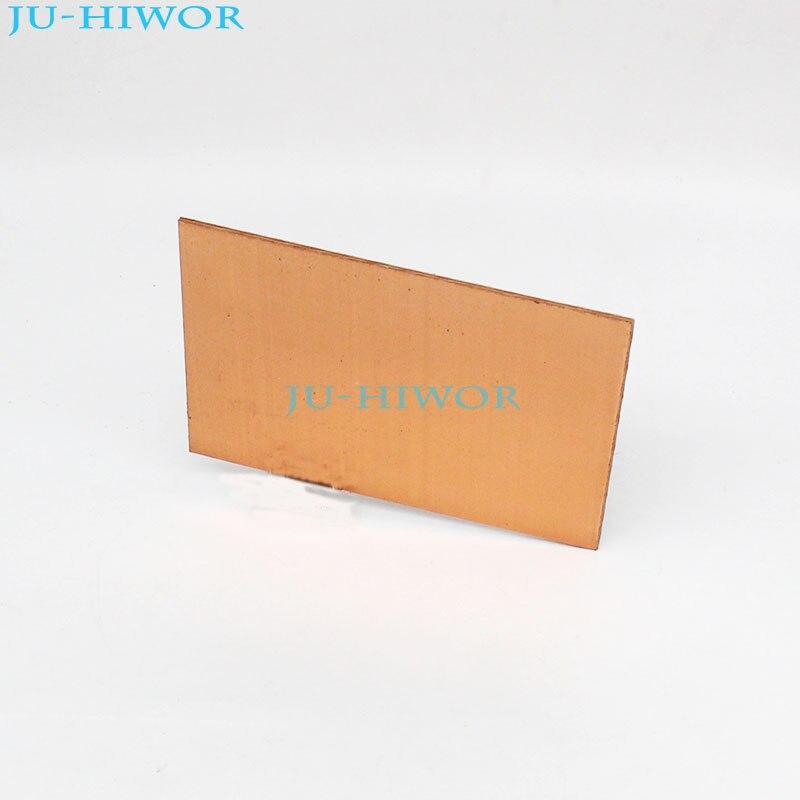 10 шт./лот, односторонний ламинат с медной обшивкой, 7 см х 10 см, используется для изготовления бумажной основы PCB
