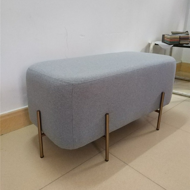 Nordic Furniture Living Room Love Seat Sofa Ottoman Bedroom Chair