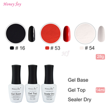 6 in 1 Red Black White Tool Kits Set 28g/Box Dipping Powder Without Lamp Cure Nails Dip Powder Summer Gel Nail Color Powder