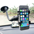 Car Mount Holder 360 degree Car Windshield Mount Cell Phone Holder Bracket Stands For Samsung iPhone MP4 iPod GPS iPad Mini