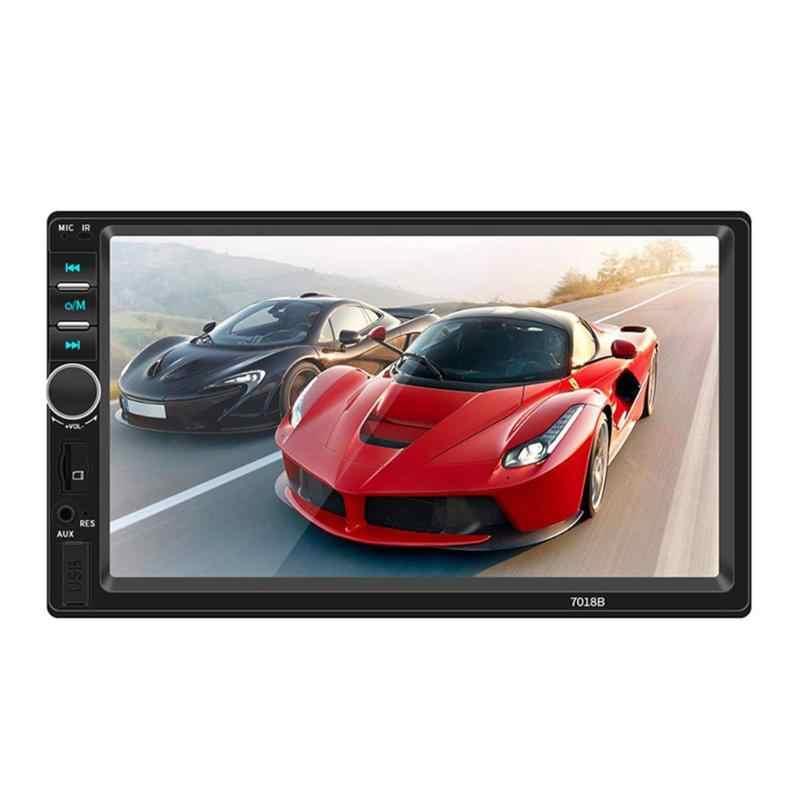 VODOOL SWM T7018B 7 inch Screen Bluetooth Auto Stereo MP5 Player Fahrzeug USB FM Radio Kopf Einheit Lenkrad Lernen funktion