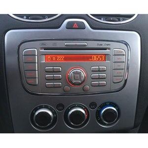 Image 5 - כפול דין DVD לרכב מסגרת עבור פורד פוקוס MK2 2005 ~ 2008 Fascias אוטומטי DVD סטריאו Trim ערכת פנל לוח מחוונים 2 דין רכב רדיו מסגרת 2di