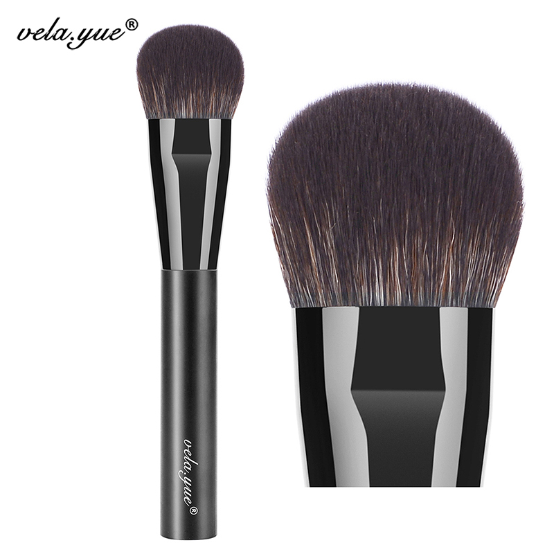 vela.yue Cheek Finish Brush Face Blush Iezīmētājs Contour Blending Makeup Brush