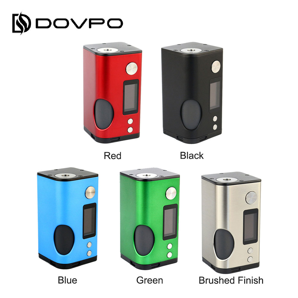New Original Dovpo Basium 180W VV Squonk MOD with 6ml Squonk Bottle No 18650 Battery Box
