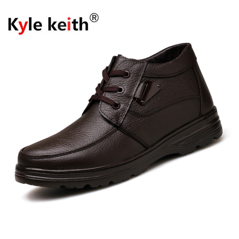 Kyle Keith New Arrive font b Men b font Boots Cotton font b Shoes b font