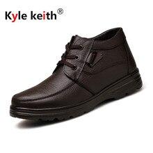Kyle Keith New Arrive font b Men b font Boots Cotton font b Shoes b font