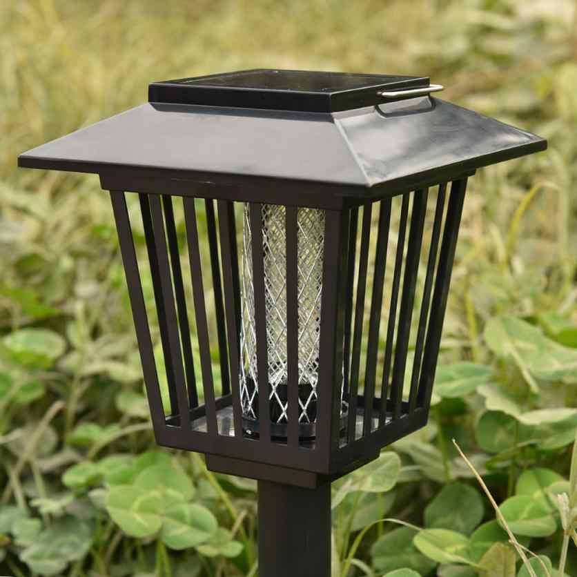 Москитная убийца устройство для уничтожения насекомых Accent Kill bugs Killer с солнечной светодиодный садовая световая лампа Прямая доставка 18may27