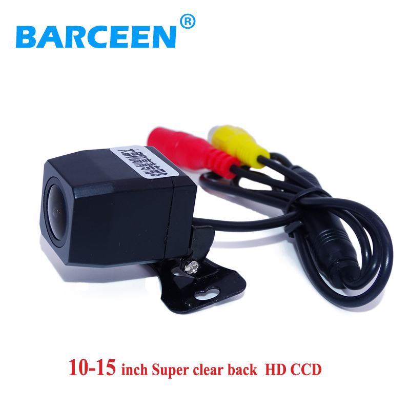 Super HD car reversing camera glass lens material colorful night vision Universal use for 10 14