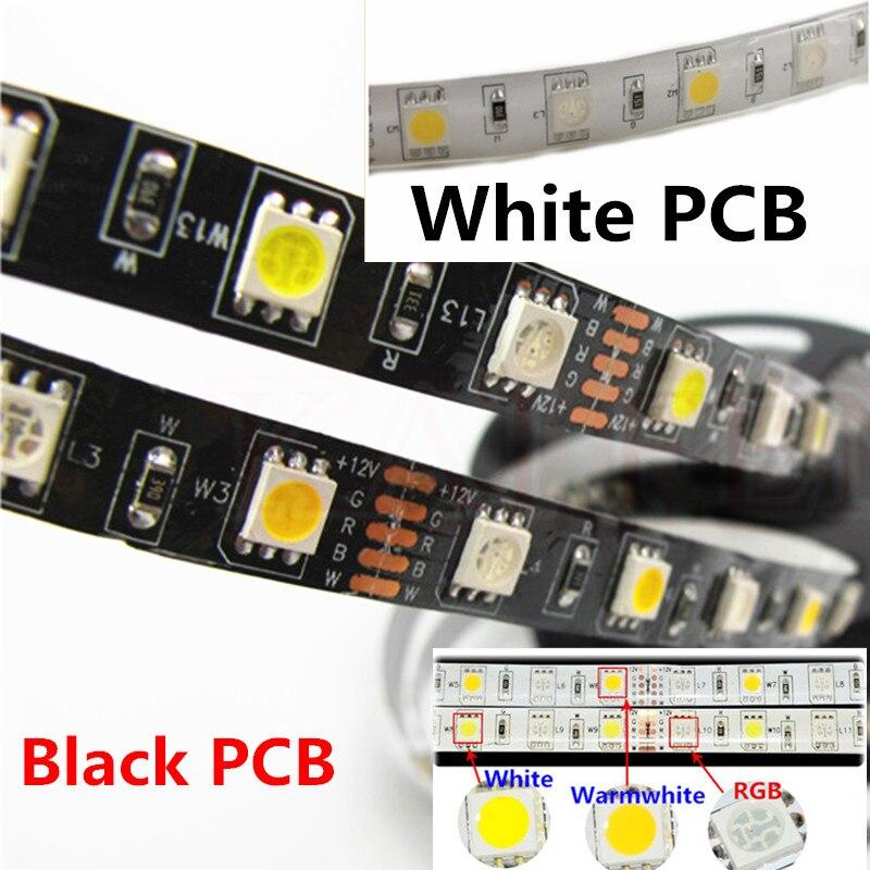 RGBW RGB + (לבן / לבן קריר) SMD 5050 צבע מעורב - תאורת לד
